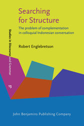Searching for Structure by Robert Englebretson