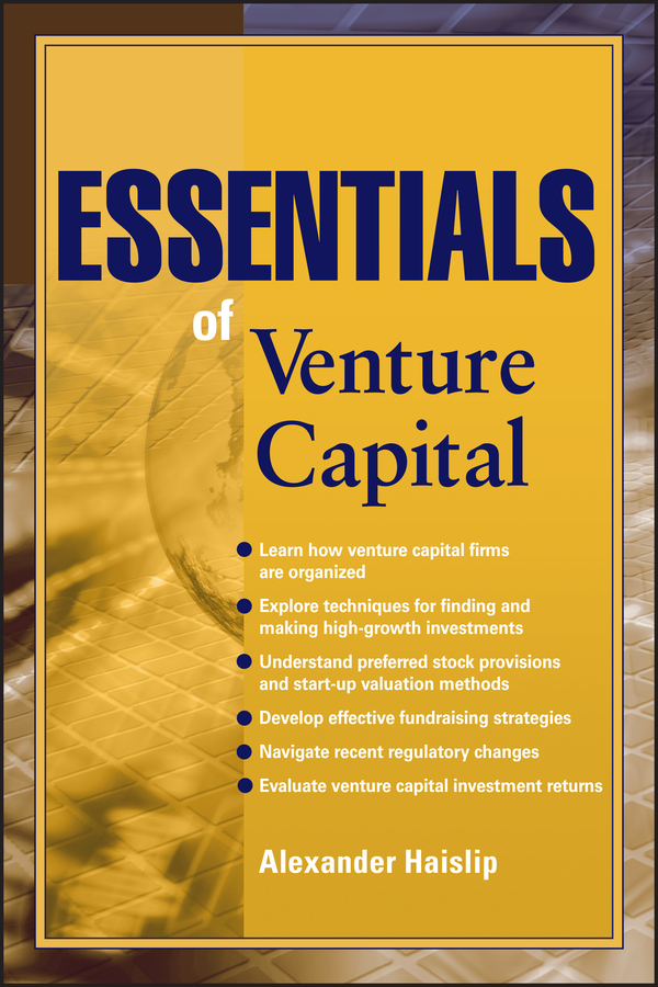 Download Ebook Essentials of Venture Capital by Alexander Haislip Pdf