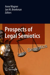Prospects of Legal Semiotics by Anne Wagner
