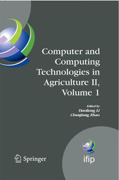 Computer and Computing Technologies in Agriculture II, Volume 1 by Daoliang Li