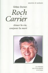 the roch carrier as a famous canadian writer Roch carrier, poet, writer of fiction and drama, essayist, former national librarian of canada (born at the beauce, qué 13 may 1937) after publishing 2 collections of poetry, les jeux incompris (1956) and cherche tes mots, cherche tes pas (1958), carrier offered critics jolis deuils (1964), a group of bizarre stories that won him a province of québec award, les concours littéraires du québec (1965).