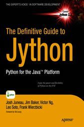 The Definitive Guide to Jython by Josh Juneau