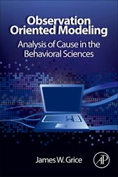Observation Oriented Modeling by James W. Grice
