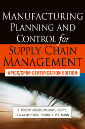 Manufacturing planning and control for supply chain management manufacturing planning and control for supply chain management by f robert jacobs buy this ebook fandeluxe Choice Image