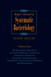 Bergey's Manual of Systematic Bacteriology by Aidan Parte