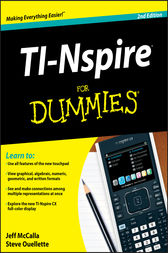 TI-Nspire For Dummies by Jeff McCalla