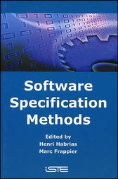 Software Specification Methods by Henri Habrias