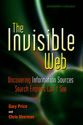 The Invisible Web by Gary Price