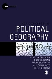 Key Concepts in Political Geography by Carolyn Gallaher