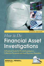 How To Do Financial Asset Investigations by Ronald L. Mendell