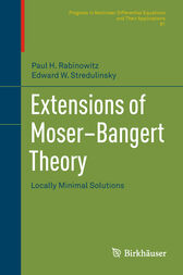 Extensions of Moser–Bangert Theory by Paul H. Rabinowitz
