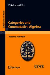Categories and Commutative Algebra by P. Salmon