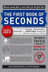 The First Book of Seconds by Matthew Murrie