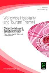 What are the challenges of diversity management in the US hospitality industry? by Juan M. Madera