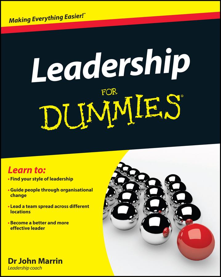 Download Ebook Leadership For Dummies by John Marrin Pdf