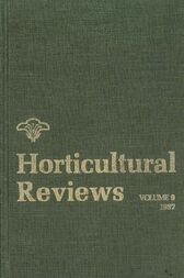 Horticultural Reviews, Volume 9 by Jules Janick