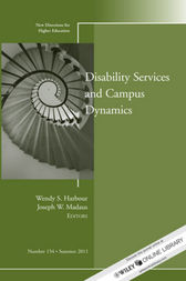 Disability and Campus Dynamics by Wendy S. Harbour