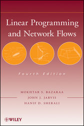 Linear Programming and Network Flows by Mokhtar S. Bazaraa