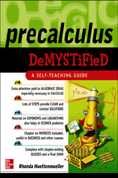 Pre-Calculus Demystified by Rhonda Huettenmueller