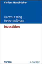 Investition by Hartmut Bieg