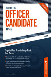 Master the Officer Candidate Tests by Scott A. Ostrow
