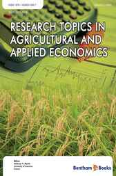 Research Topics in Agricultural and Applied Economics by Anthony N. Rezitis