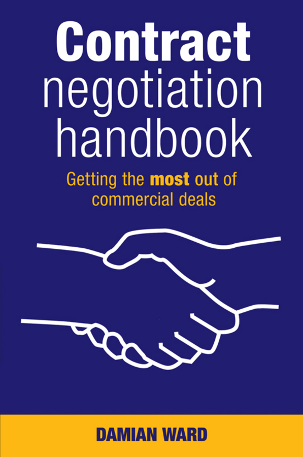 Download Ebook Contract Negotiation Handbook by Damian Ward Pdf