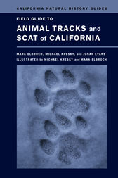 Field Guide to Animal Tracks and Scat of California by Lawrence Mark Elbroch