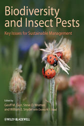 Biodiversity and Insect Pests by Geoff M. Gurr