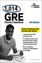 1,014 GRE Practice Questions, 3rd Edition by Princeton Review
