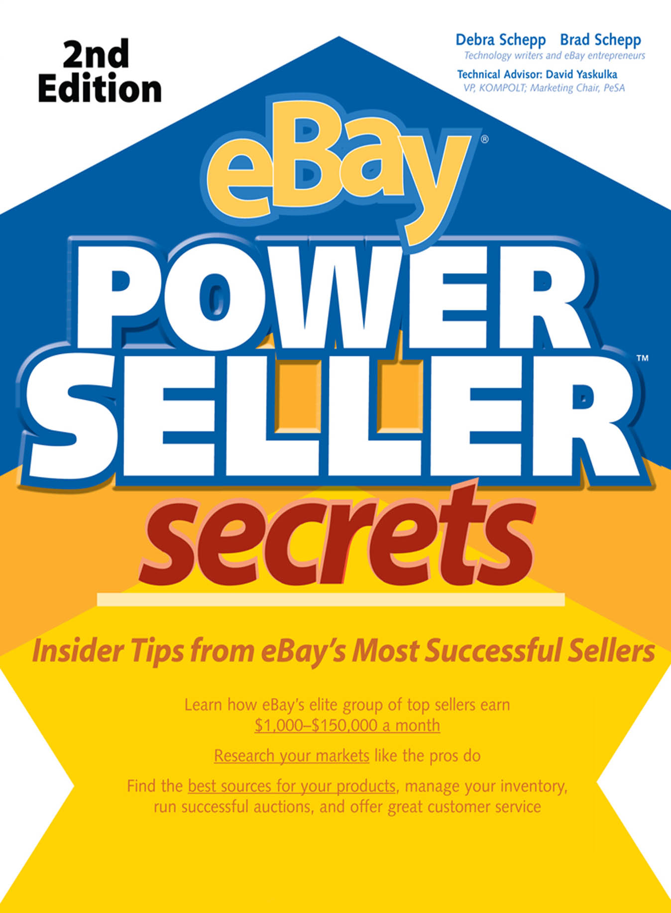 Download Ebook eBay PowerSeller Secrets, 2E (2nd ed.) by Brad Schepp Pdf