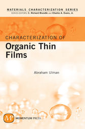 Characterization of Organic Thin Films by Abraham Ulman