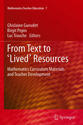 From Text to 'Lived' Resources by Ghislaine Gueudet