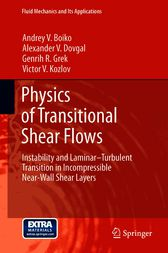Physics of Transitional Shear Flows by Andrey V. Boiko