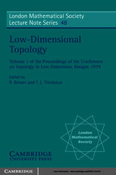 Low-Dimensional Topology by R. Brown
