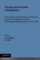 Nuclear and Particle Astrophysics by Jorge G. Hirsch