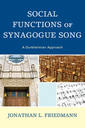 Social Functions of Synagogue Song by Jonathan L. Friedmann