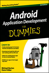 Android Application Development For Dummies by Michael Burton