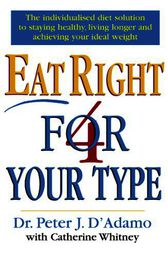 Eat Right 4 Your Type by Peter D'Adamo