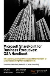Microsoft SharePoint for Business Executives Q&A Handbook by Peter Ward