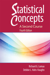 Statistical Concepts by Richard G. Lomax