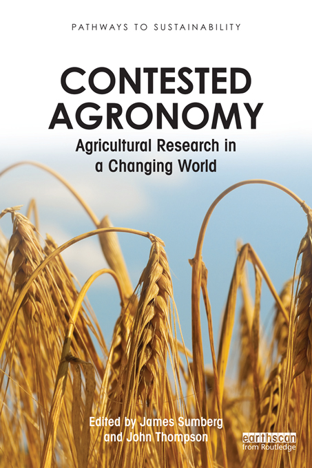 Download Ebook Contested Agronomy by James Sumberg Pdf