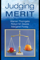 Judging Merit by Warren Thorngate
