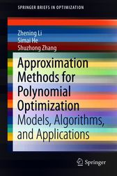 Approximation Methods for Polynomial Optimization by Zhening Li