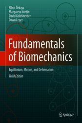 Fundamentals of Biomechanics by Nihat Özkaya