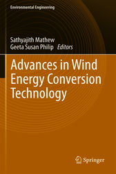Advances in Wind Energy Conversion Technology by Mathew Sathyajith