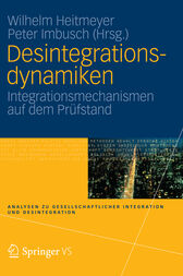 Desintegrationsdynamiken by Wilhelm Heitmeyer