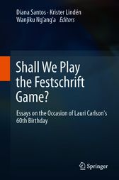 Shall We Play the Festschrift Game? by Diana Santos