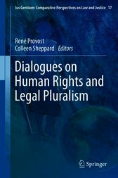 Dialogues on Human Rights and Legal Pluralism by René Provost