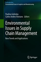 Environmental Issues in Supply Chain Management by Paulina Golinska